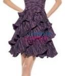 Şık mini abiye elbiseleri 2012