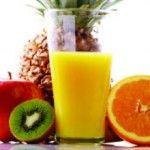 Orucu meyve suyu ile açın, sahurda süt için