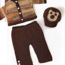 bebek hirka2 220x220 Bebeklere sıcak tutacak hırka modelleri