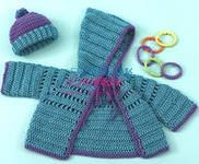 bebek hirka5 Bebeklere sıcak tutacak hırka modelleri