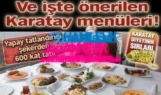 karatay-menu